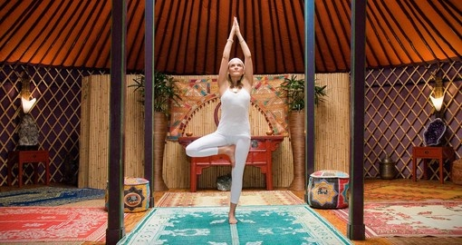 Visit one of the many yoga studios on your next Australia tours.