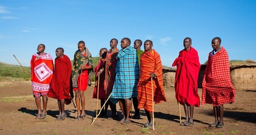 Visit the Masai tribe on your Kenya safari.