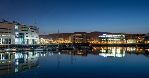 Titanic Quarter and Belfast city