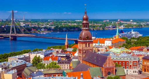 Begin your European Tour in Riga, capital city of Latvia