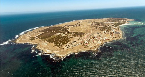 Include a visit to the notorious Robben Island on your South African vacation