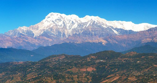 Dhulikhel, offers stunning views of the Himalayas