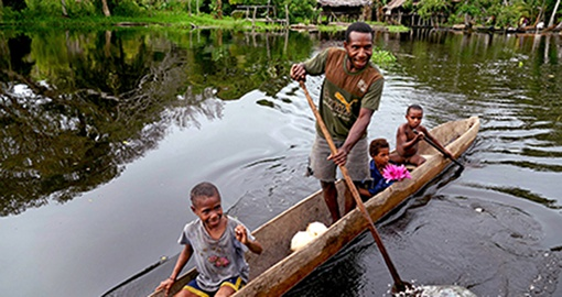 Paddle on the Sepik River