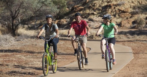 Enjoy a Velo Tour of Alice Springs on your Australia Vacation