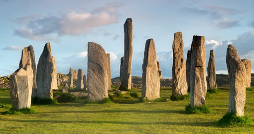 Megalithic stone circle, Isle of Lewis and Harris, Outer Hebrides