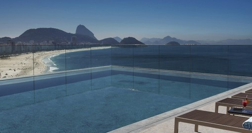 Take in the views from your Roof Top Pool on your trip to Brazil