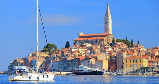 Old Venetian town of Rovinj, Croatia