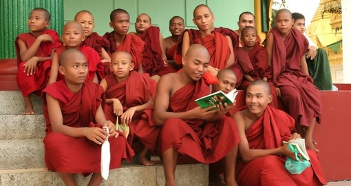 Burmese monks