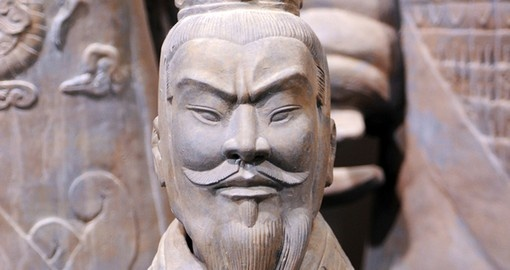 Visit the ancient Terracotta Warriors in Xian on your China Vacation