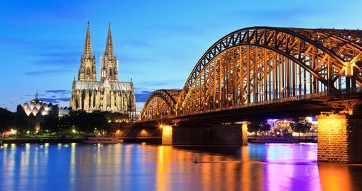 Discover Cologne Cathedral and Hohenzollern Bridge on your next trip to Netherlands.