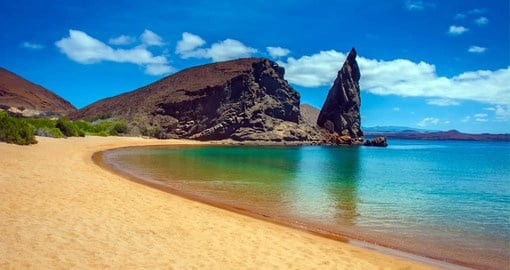Bartolome Island was named after Sir Bartholomew James Sulivan, a friend of Charles Darwin