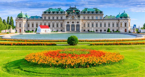 Once the home of Prince Eugene of Savoy, The Belvedere became a state owned museum in 1919