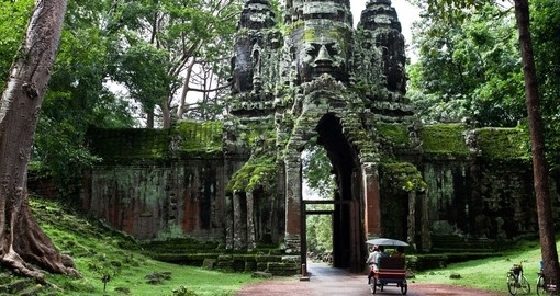 Explore ancient temples on your trip to Southeast Asia
