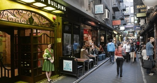 Exxperience the Degustation Half Day Walking Tour of Melbourne as part of your Australian Vacation