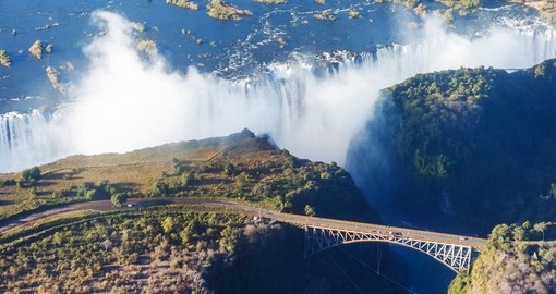 See the Victoria Falls during your Zambia trip.