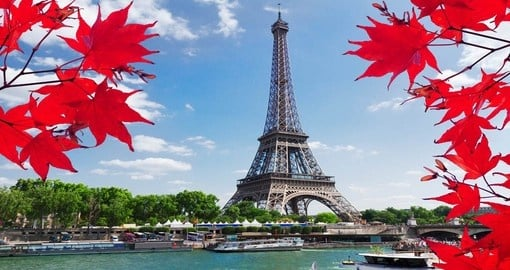 Visit world famous Eiffel Tower during your next Paris vacations.