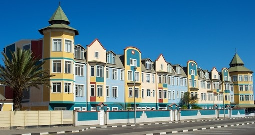 Visit the city of Swakopmund during your Namibia tour.