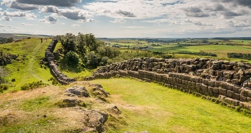 Visit Hadrian's Wall is a World Heritage Site during your next