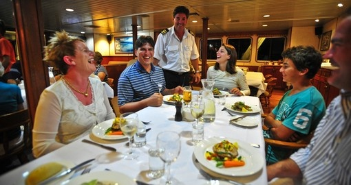 Explore all the amenities of the vessel during your next Australia tours.
