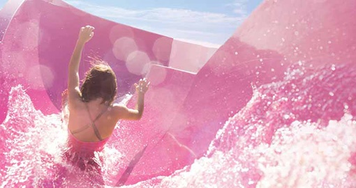Aqua Park on the Norwegian Epic.