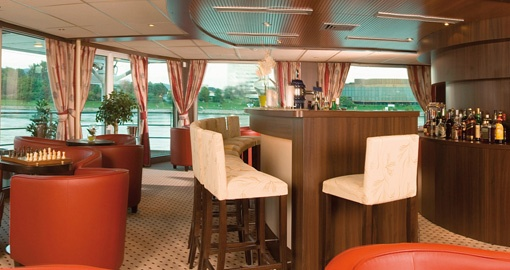 The Club on the MS Amadeus Princess.
