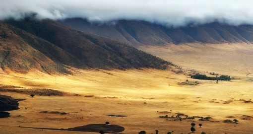 First light, Ngorongoro Conservation Area - A great photot opportunity on your Tanzania Safari