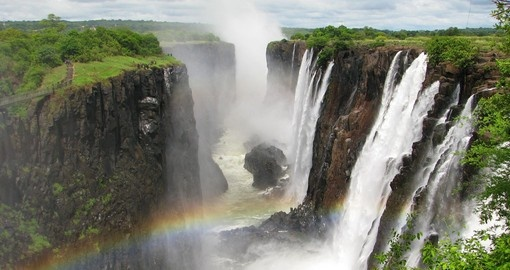 Victoria Falls - A must see attraction for all nature lovers on all Botswana tours.