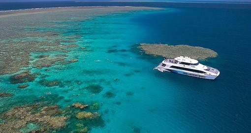 Snorkel on the Great Barrier Reef during your Australia vacation.