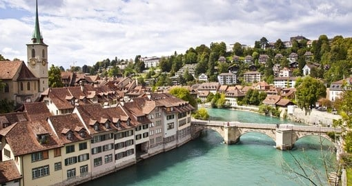 Visit Bern, the capital on this Switzerland vacation