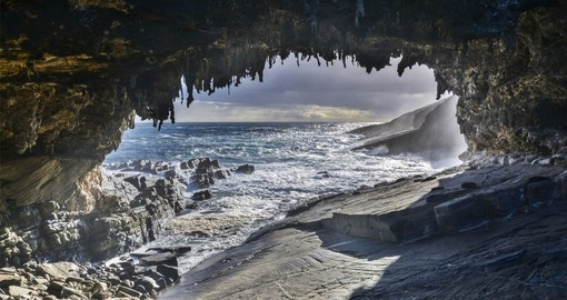 Visit Admirals Arch on Kangaroo Island on your Australia Vacation