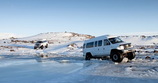 Include a Super Jeep tour on your Iceland Vacation