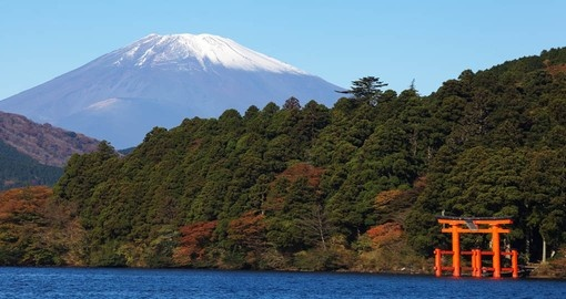 Experience the natural landscape that covers Japan ranging from giant mountains to clear lakes on your Japanese Vacation