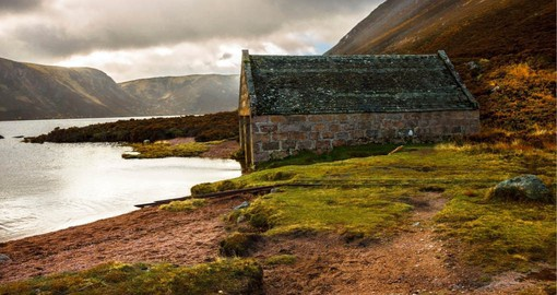 Located near the Balmoral Estate, Loch Muick has been a favorite of the Royal Family since Queen Victoria