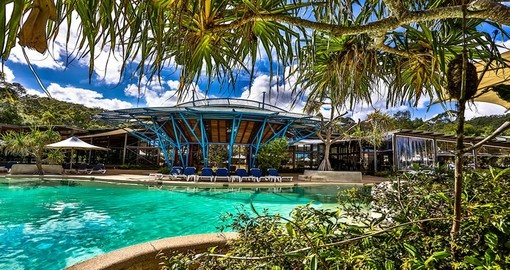 Spend time at Kingfisher Bay Resort on Fraser Island during your Australia vacation.