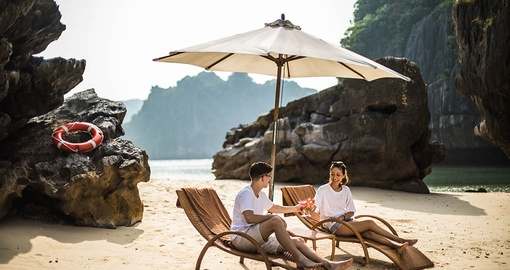 Visit breathtaking beaches during your next trip to Vietnam.