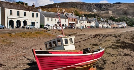 Ullapool in the Scottish Highlands