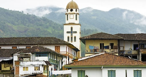 Stroll the tranquil streets of Salento on your Colombia Tour