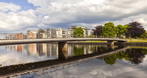 You will spend some time in Halmstad during your self drive in Sweden