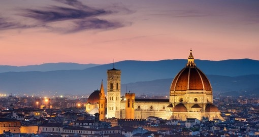 Sunset over the Cathedral of Santa Maria del Fiore, Florence