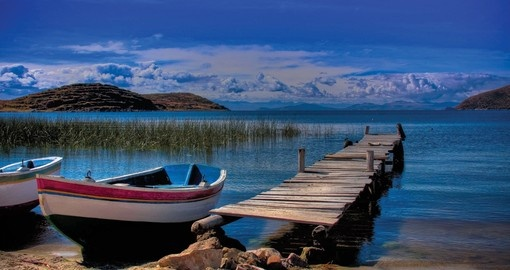 Visit Beautiful Lake Titicaca on your trip to Peru