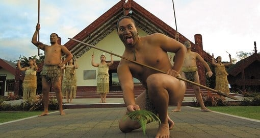 Visit the friendly local Maori's during your next New Zealand vacations.