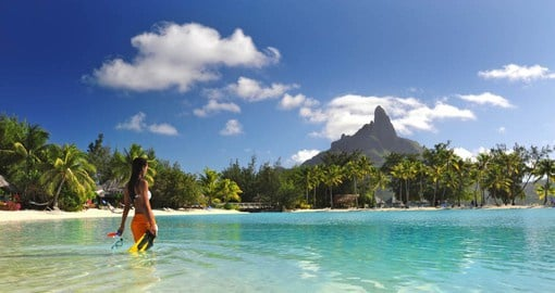 Le Meridien Bora Bora is nestled on a magnificent islet surrounded by the waters of a private lagoon