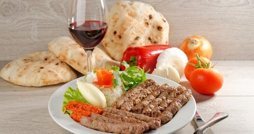 Cevapcici is popular all over the Balkans