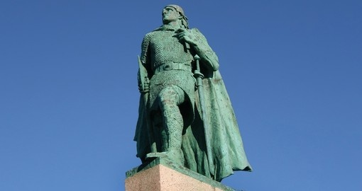 Leif Eriksson, the first European to land in North America