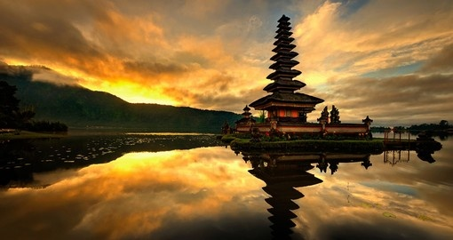 Sunset in Bali