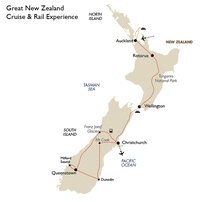Great New Zealand Cruise & Rail Experience