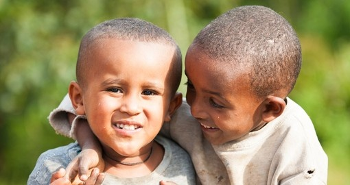 Little Ethiopians playing around