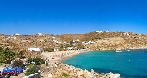Explore and enjoy beautiful beaches in Mykonos during your next Greece vacations.