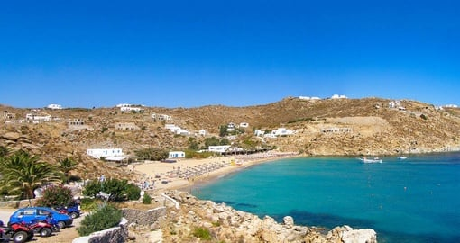 Explore Super Paradise Beaches in Mykonos during your next Greece vacations.