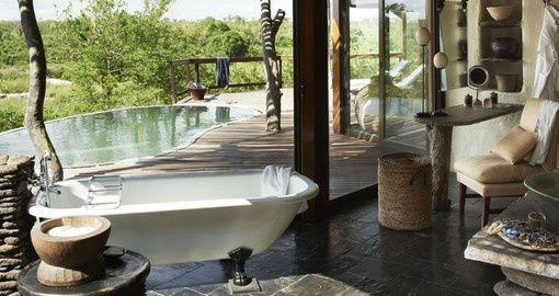 Enjoy all the wonderful amenities of the Boulders lodge on your next trip to South Africa.